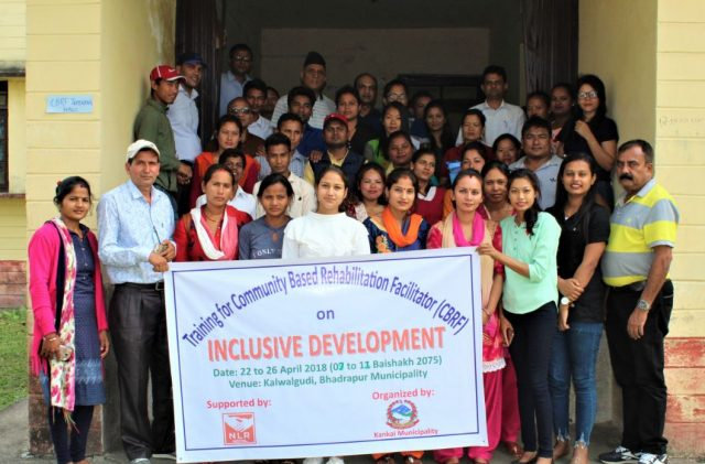 Training on Inclusive Development in Nepal
