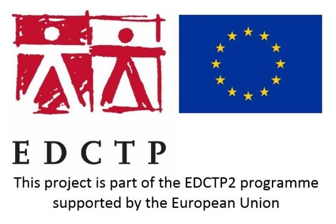 EDCTP and EU logo