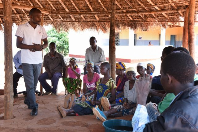 Self help group Curruane in Mozambique
